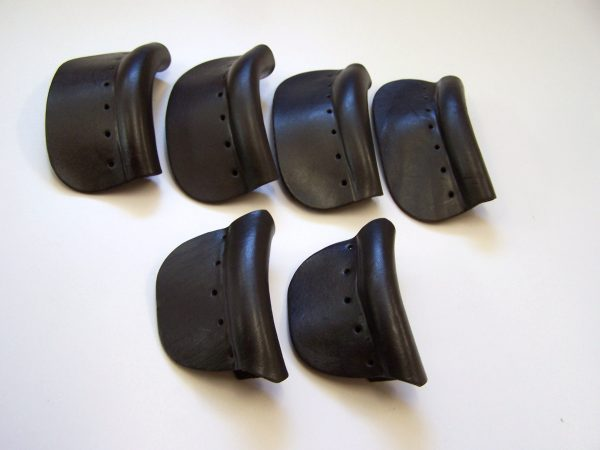 BLACK QUALITY Pool Snooker Billiard Table THICK MOULDED Pocket LEATHERS set of 6