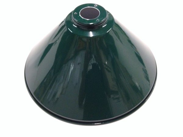 Brushed Stainless Light (3 x Green Shades) 61 Inch