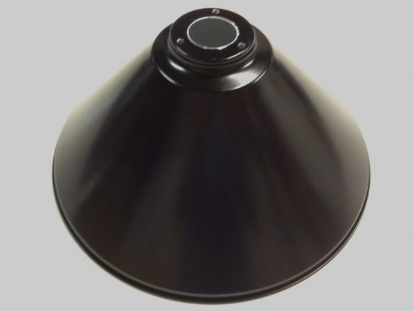 Brushed Stainless Light (3 x Black Shades) 61 Inch