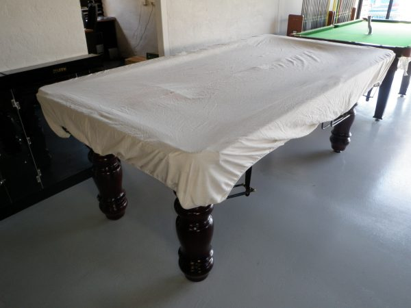 Calico Dust Cover For 9ft Pool Snooker Billiard Table OUT TILL MAY