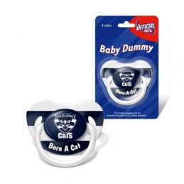 AFL Geelong Cats TEAM Logo Infant Baby Dummy Pacifier Baby
