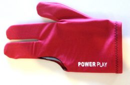 QUALITY Pool Snooker Billiard Table Cue Glove PowerPlay Glove RED