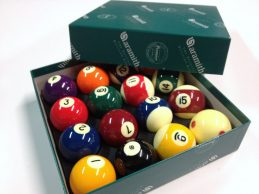 POOL BALLS Aramith Premier 2 inch WITH 2 inch MEASLE WHITE BALL
