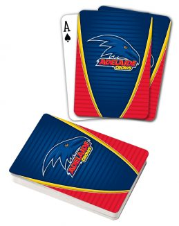 AFL Adelaide Crows Aussie Rules Deck Playing Cards Poker Mascot Cards