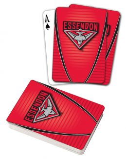AFL Essendon Bombers Aussie Rules Deck Playing Cards Poker Cards