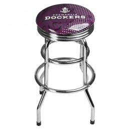 AFL Freemantle Dockers LICENSED BAR STOOL Great for your Pool Room