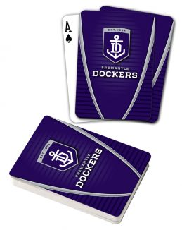 AFL Freo Fremantle Dockers Aussie Rules Deck Playing Cards Poker Cards