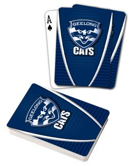 AFL Geelong Cats Aussie Rules Deck Playing Cards Poker Cards
