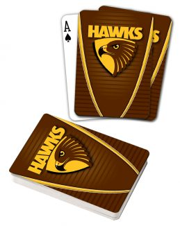 AFL Hawthorn Halks Aussie Rules Deck Playing Cards Poker Cards