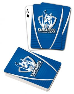 AFL North Melbourne Kangaroos Aussie Rules Deck Playing Cards Poker Cards