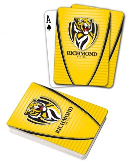 AFL Richmond Tigers Aussie Rules Deck Playing Cards Poker Cards
