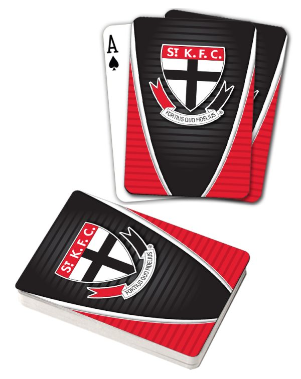 AFL St Kilda ST K.F.C Aussie Rules Deck Playing Cards Poker Cards