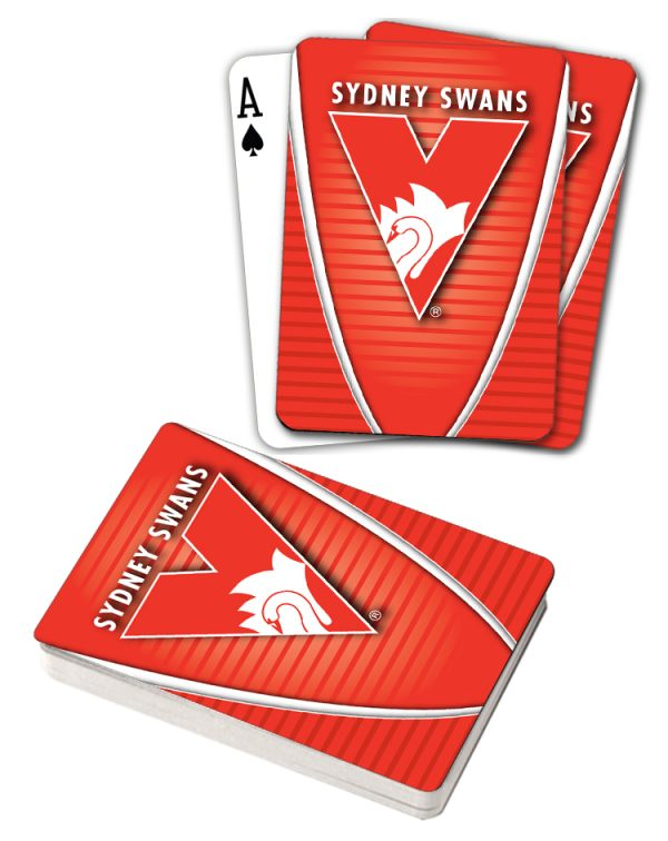 AFL Sydney Swans Aussie Rules Deck Playing Cards Poker Cards