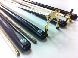 Ash PRO Rest Set (Rest, Spider, 2 x Cues) BRASS FITTINGS