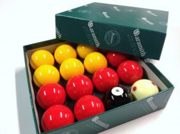 CASINO POOL BALLS Aramith Premier 2 inch WITH 1 & 7/8  inch MEASLE WHITE BALL