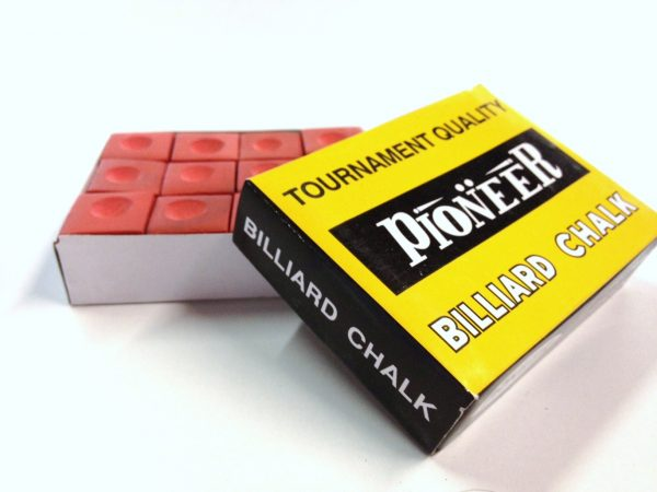 Box of Pioneer Chalk Red