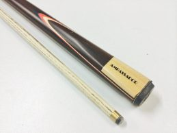 """OUT CLASSIC ASH AMBASSADOR With 4 Point Splice Pool Snooker Billiard Cue 57"""" 9mm Tip"""