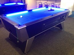 Coin Operated Commercial Neon GOAST Pool Table