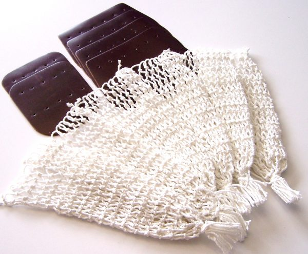 Cotton Nets &  Brown Leather Set