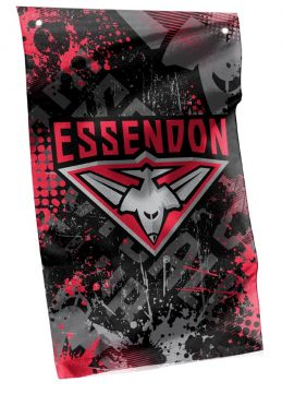 ESSENDON BOMBERS AFL Cape Wall Flag Banner
