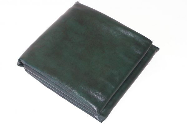 Fitted Heavy Duty Vinyl 9ft Pool Snooker Billiard Cover (Green)