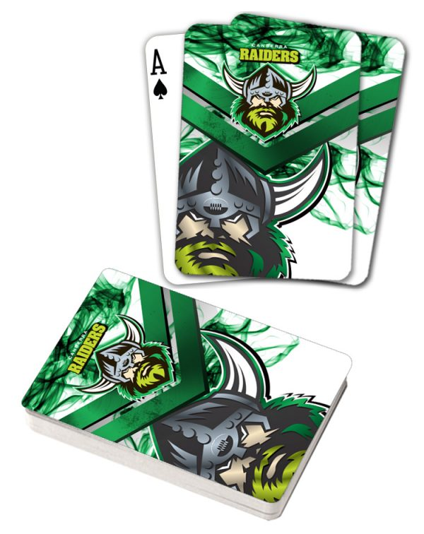 NRL Canberra Raiders Deck Playing Cards Poker Mascot Cards
