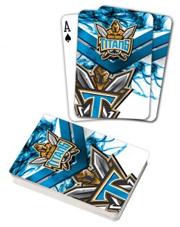 NRL Gold Coast Titans Deck Playing Cards Poker Mascot Cards