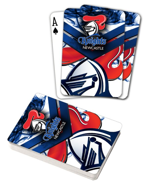 NRL Newcastle Knights Deck Playing Cards Poker Mascot Cards