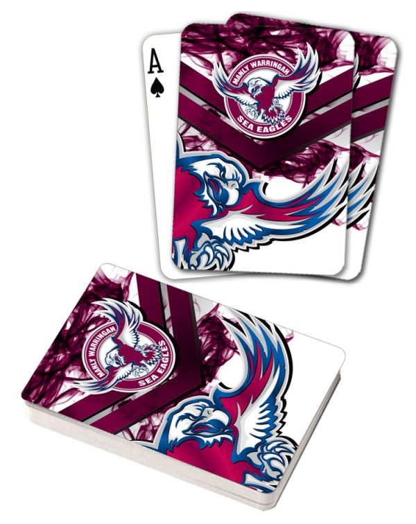 NRL Manly Sea Eagles Deck Playing Cards Poker Mascot Cards