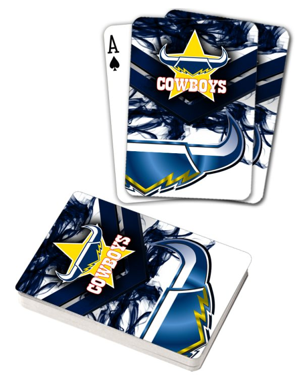 NRL North QLD Cowboys Deck Playing Cards Poker Mascot Cards