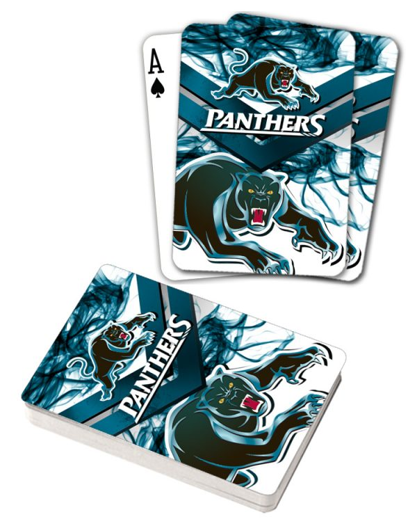 NRL Penrith Panthers Deck Playing Cards Poker Mascot Cards