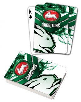 NRL South Sydney Rabbitohs Deck Playing Cards Poker Mascot Cards