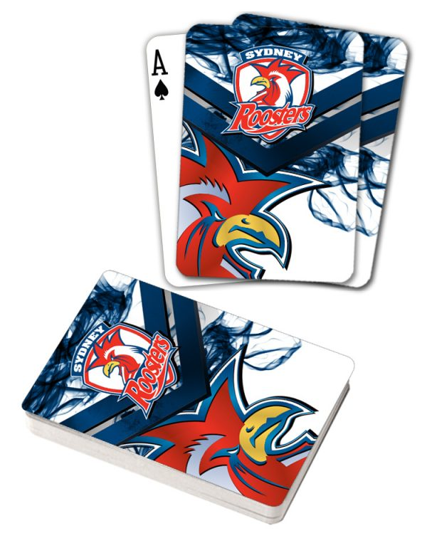 NRL Sydney Roosters Deck Playing Cards Poker Mascot Cards