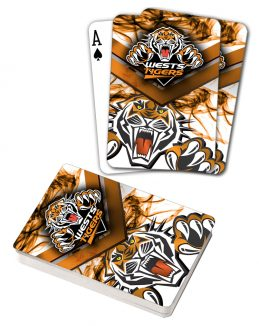 NRL Wests Tigers Deck Playing Cards Poker Mascot Cards