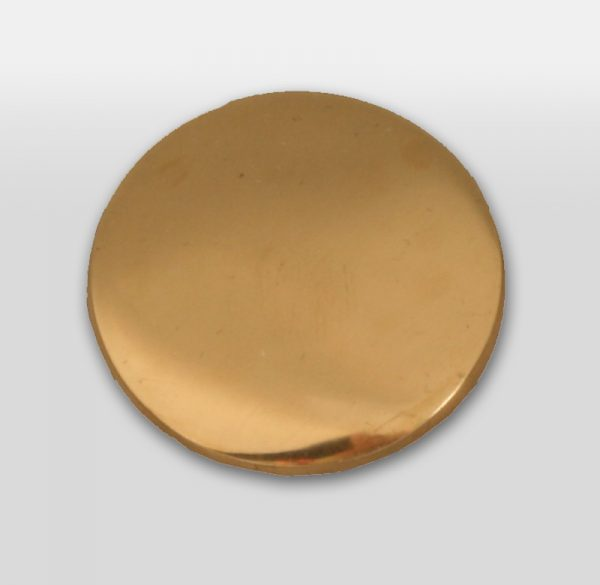 Pool Table Buttons Brass (price is each)