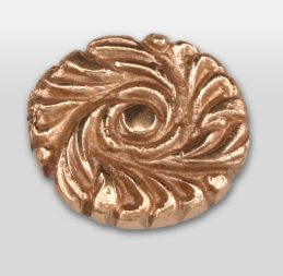Pool Table Buttons Brass Flower (price is each)