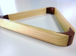 Timber Triangle For 2 Inch Balls (10 Ball)