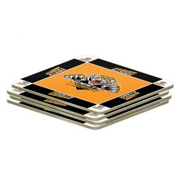 NRL Wests Tigers Quality Coasters Set of 4