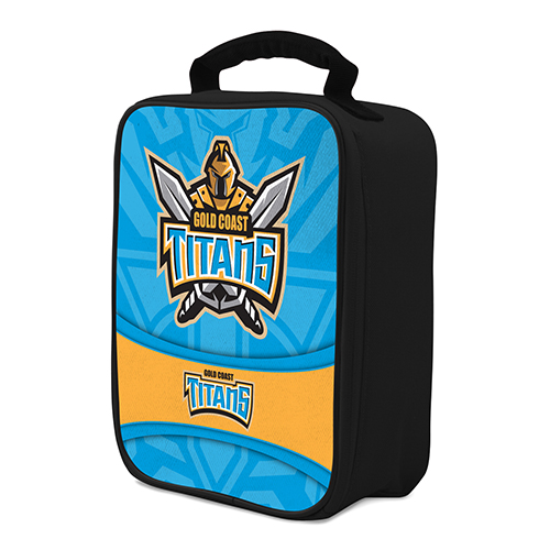 NRL Gold Coast Titans COOLER BAG Zip opening insulated
