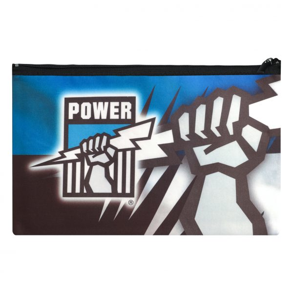 AFL Adelaide Port Power QUALITY LARGE Pencil Case for School Work Stationary
