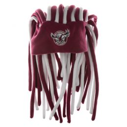 NRL Manly Sea Eagles Deadlock Hat Cap Beanie Game Day Party Gift