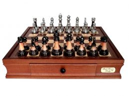 CHESS DAL ROSSI METAL/MARBLE Family Board Game