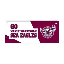 Manly Sea Eagles NRL LICENCE TIN PLATE SIGN