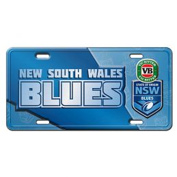 State of Origin NSW New South Wales Blues LICENCE TIN PLATE SIGN