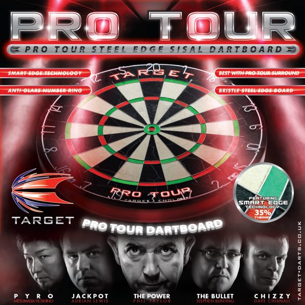 Target Phil Taylor PRO TOUR Dart Board Blade Competition Smart Edge 35% Thinner