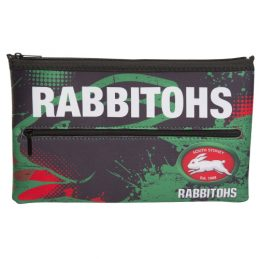NRL South Sydney Rabbitohs QUALITY LARGE Pencil Case for School Work Stationary