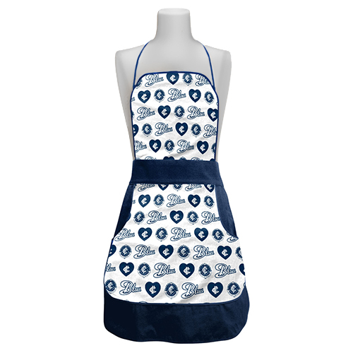 Carlton Blues AFL Retro Ladies Apron Mothers Day Gift Kitchen Cooking BBQ