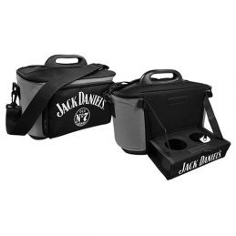 JACK DANIELS DRINK COOLER ESKY CARRY BAG WITH DRINK TRAY/TABLE