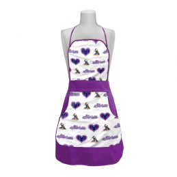Melbourne Storm NRL Retro Ladies Apron Mothers Day Gift Kitchen Cooking BBQ