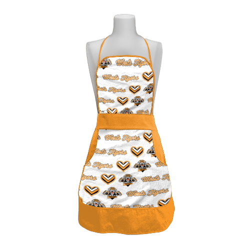 Wests Tigers NRL Retro Ladies Apron Mothers Day Gift Kitchen Cooking BBQ